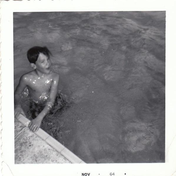 Tony in Pool 1964.jpg
