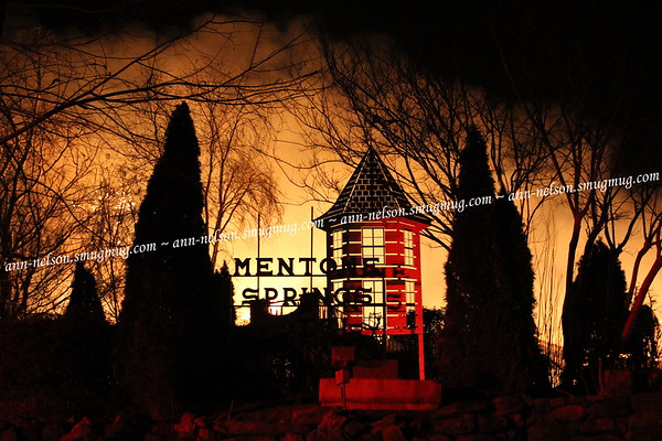 Historic Fire at Mentone Springs Hotel