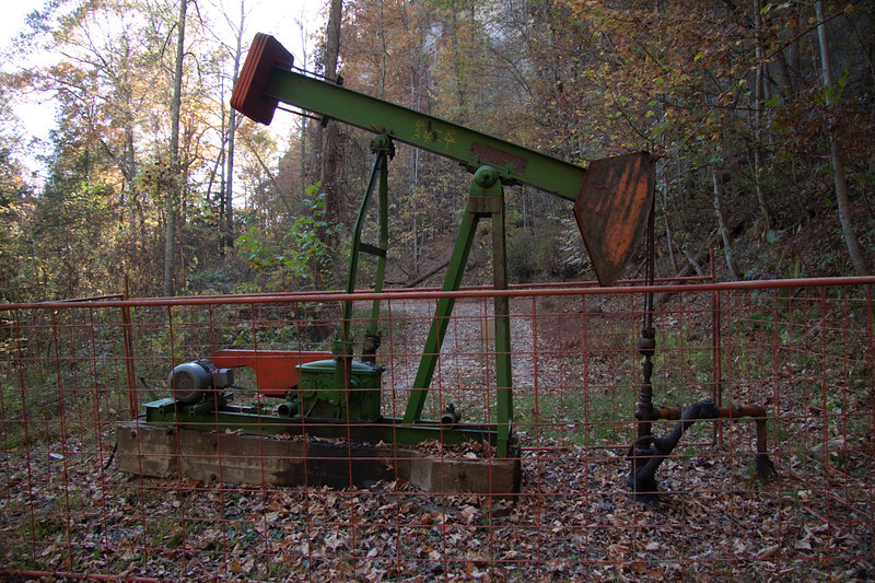 Oil mining in the PMRP area of the RRG