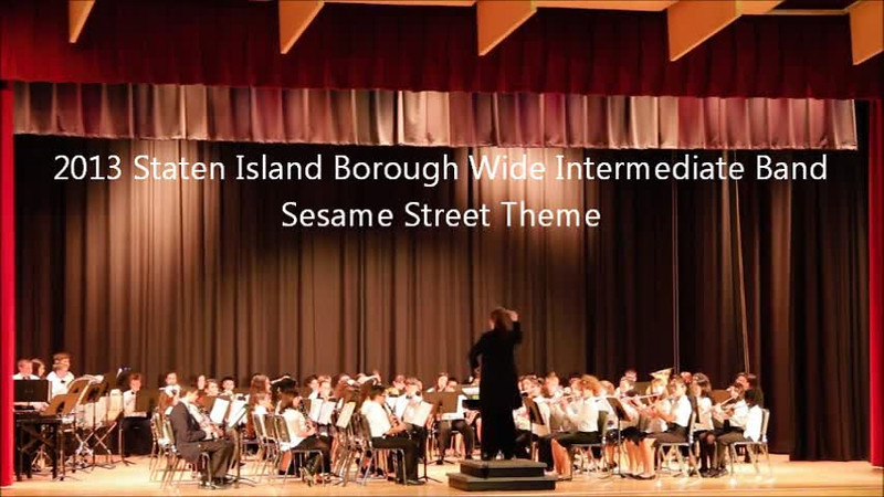 Staten Island Borough-Wide Concerts 2013 - 05-Sesame Street Theme.m4v