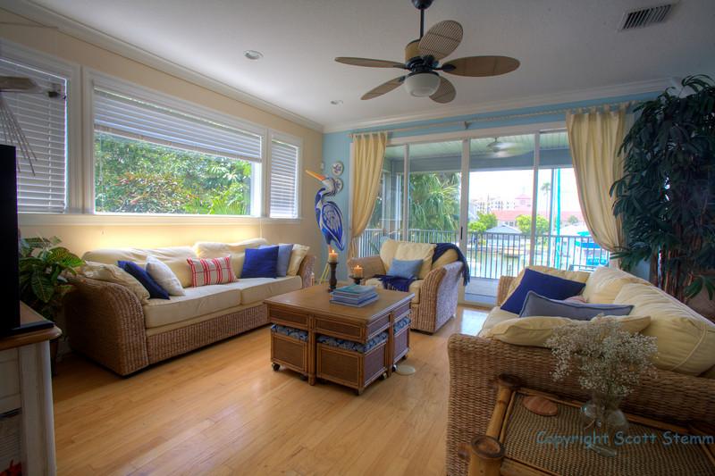 Living Space  with varanda (2nd Floor)