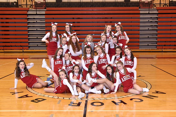ANCHOR BAY MIDDLE SCHOOL COMPETITIVE CHEER
