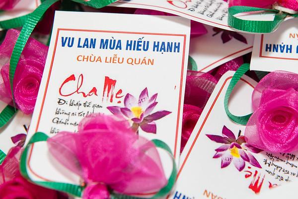 Sept 02 2017 Le Vu Lan Chua Lieu Quan