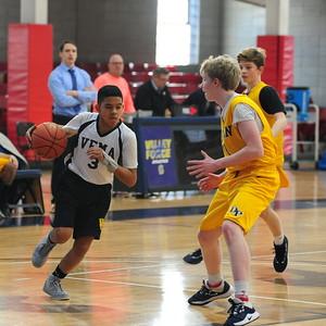 Middle School Basketball vs Devon 2