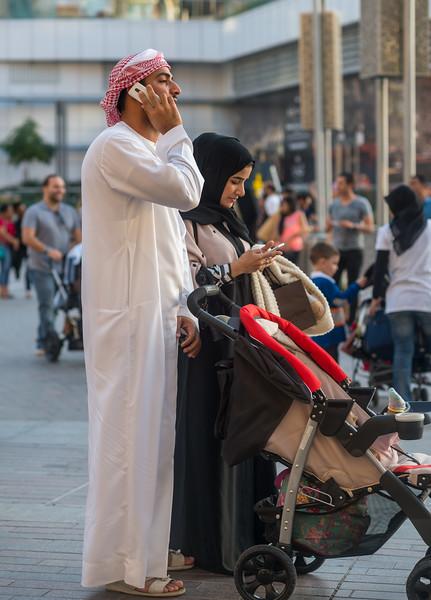 Phones in Dubai, March 2015