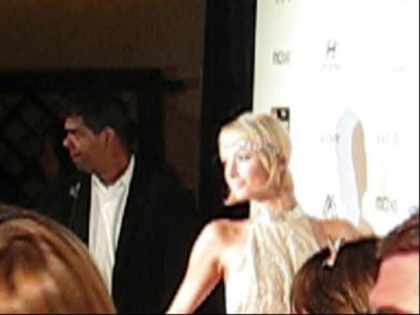 VIDEO  VIDEO  VIDEO  VIDEO of Paris Hilton  Video of Red Carpet Shots of Paris Hilton in flapper outfit, Interview with Paris - what she is up to!  Video and Video Editing by Kiki Kalor