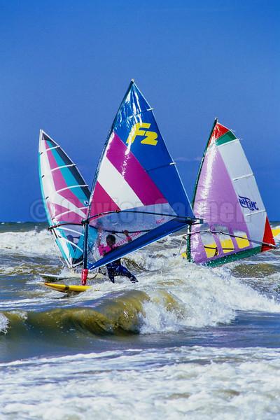 Windsurf Le Touquet Juillet 1985