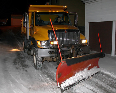 Tamaqua Snow Plow Truck, Dutch Hill, Tamaqu (2-11-2012)