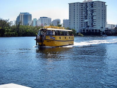 Ft. Lauderdale Water Taxi Tour - November 2010