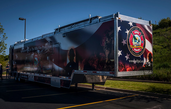 ALITHFPD New Training Trailer - May 10, 2012