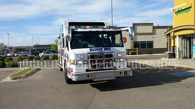 Red Deer City Fire Engine