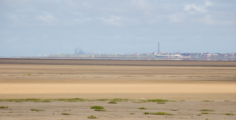 Blackpool over the sea