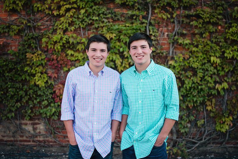Alex & Clayton Peterson Senior Portraits