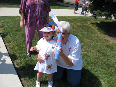 Hailey's 4th of July Parade at School (2007)