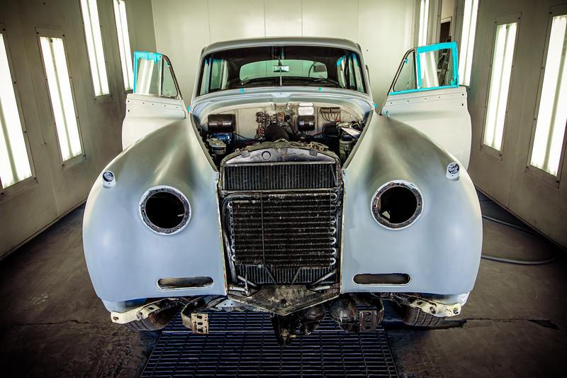 Custom car collectors
