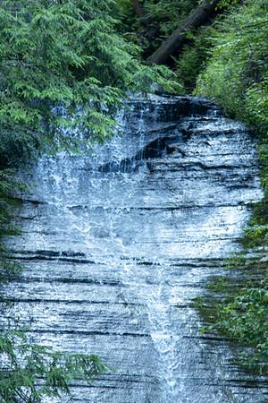 Waterfalls of WNY  - Spring Falls, Zoar Valley NY