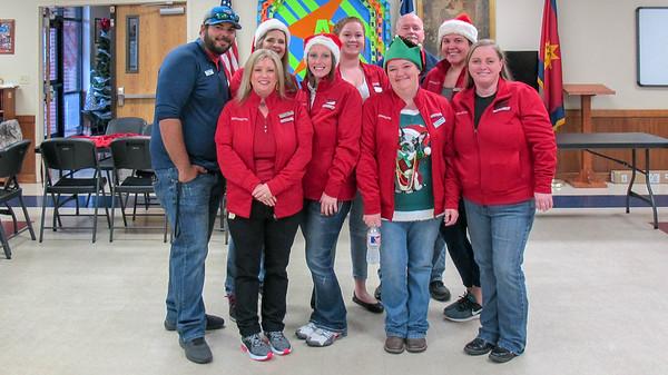 Team Granger Volunteer Day at Salvation Army