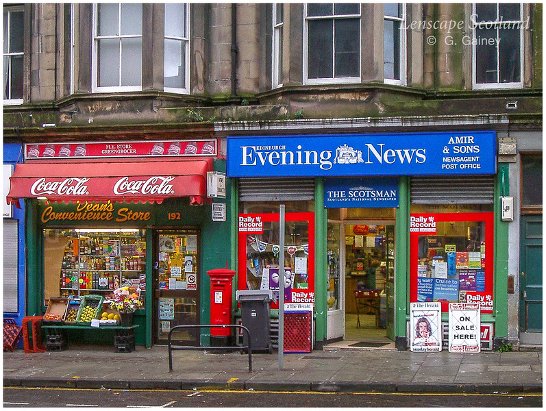 Dalkeith Road shops  (2004)