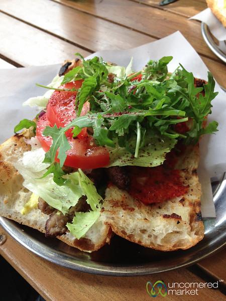 Köfte Sandwich at Gel Gör  - Kreuzberg, Berlin
