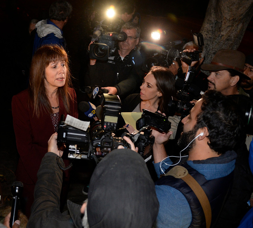 . Valerie Wass attorney for Conrad Murray tells the press that Murray was released from the Los Angeles Men\'s Central Jail early Monday morning by 12:01 am. Murray, 60, left from the back door of the jail in a police cruiser shortly after midnight local time. Murray\'s lawyer says he is not being released due to good behavior, but rather credit for time served. Murray was given an additional day of credit for every day he served.  In 2011, Murray was sentenced to four years in jail for involuntary manslaughter after he treated Michael Jackson with the powerful surgical anesthetic drug propofol. Los Angeles CA.October 28,2013. Photos by Gene Blevins/LA Daily News