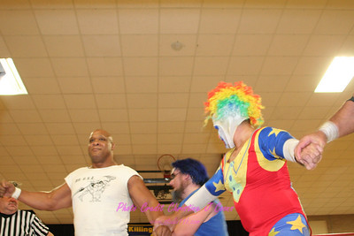 04 Doink & The Patriot vs Kevin Matthews & Antonio Malove with Ox Baker