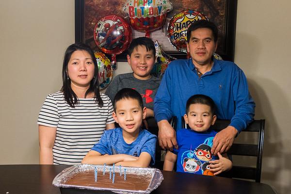 Henry's 8th Birthday