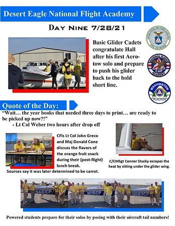 Desert Eagle Flight Academy Day 9