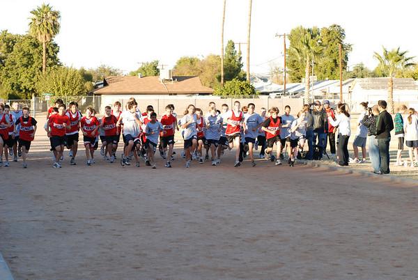 At Mesquite Junior High 12/08/09