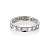.95ctw Art Deco French Cut Eternity Band 0
