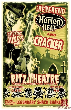 Reverend Horton Heat & Cracker June 5, 2010
