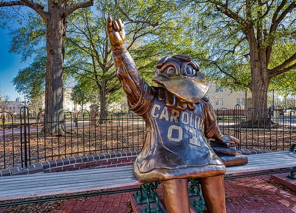 Cocky Statue