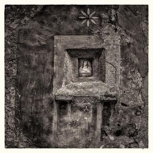 Pienza, Italy 2015 (monochrome)