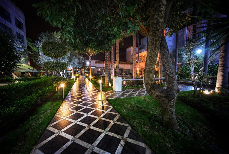 The Path in Rabat