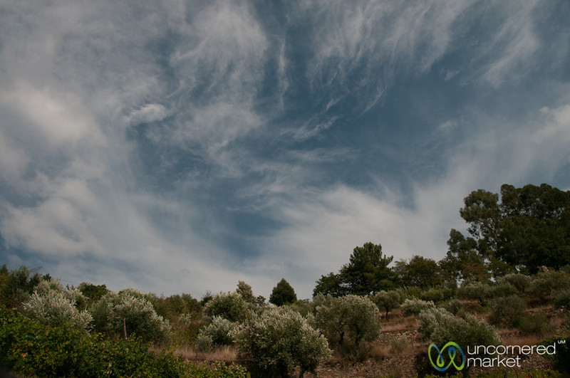 Douro Valley Clouds and Landscape - Portugal
