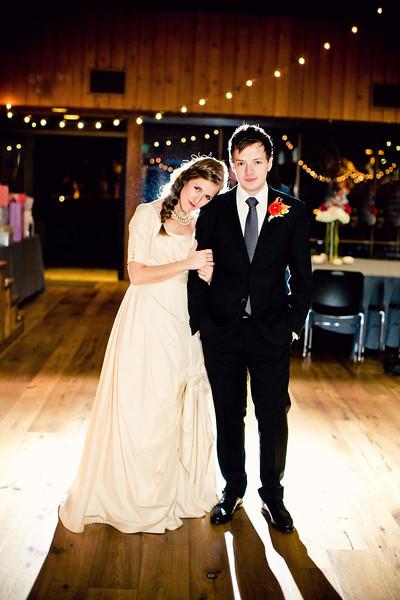 Stefanie and Jason Reception