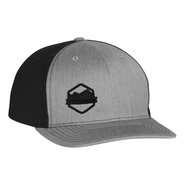 Organ Mountain Outfitters - Outdoor Apparel - Hat - Logo Twill Back Trucker Cap - Heather Grey Black.jpg