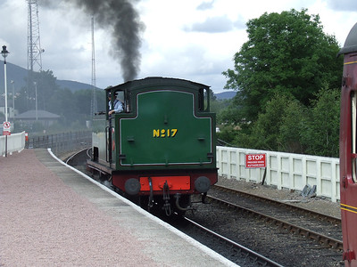 Pitlochry, Aviemore & Strathspey Railway, 2nd to 7th July 2007