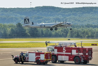 ARFF Operations - Westfield/Barnes Airport - 6/19/21