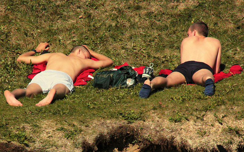 Catching Rays Yes, you can get a tan in Iceland