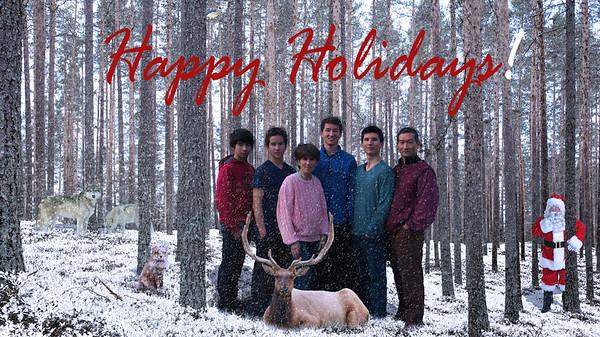 2015 Happy Holidays from the Hosokawas