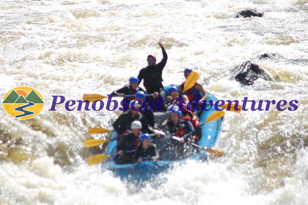 Penobscot River Rafting Photos 2016