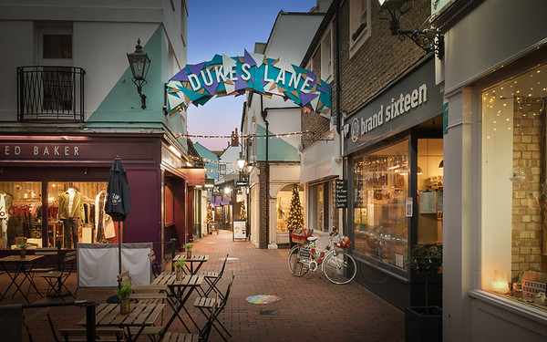Retail Photography: Brighton Lanes
