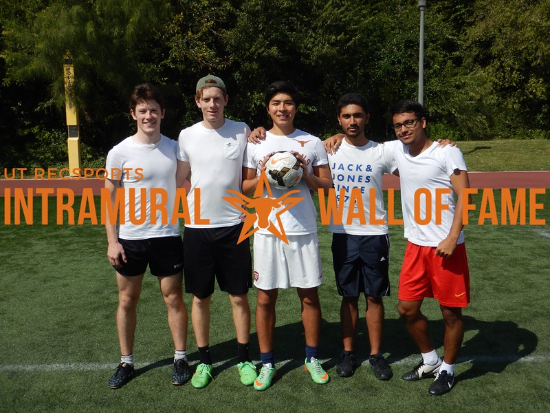 Fall 2016 3v3 Soccer Men's B Runner Up_Foreigners United