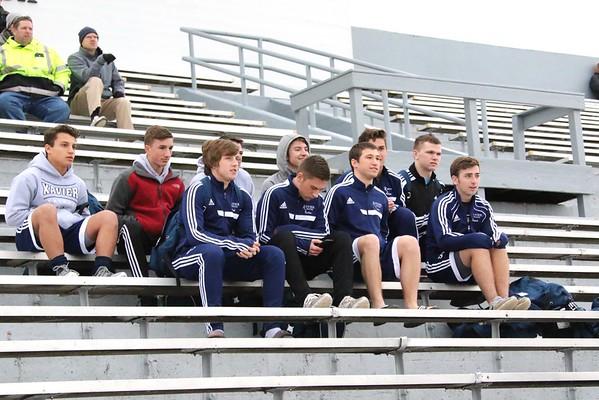 Xavier vs. Iowa City West at Boys' Soccer Jamboree 3/31/16