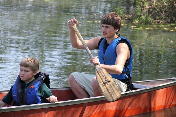 3rd-Graders Go Canoeing
