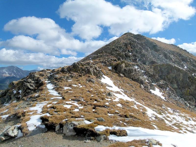 Gladstone Ridge from the pass
