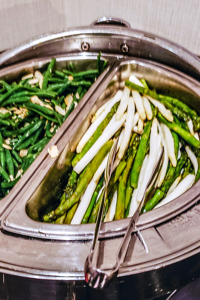 Green beans Almondine and green and white asparagus.jpg