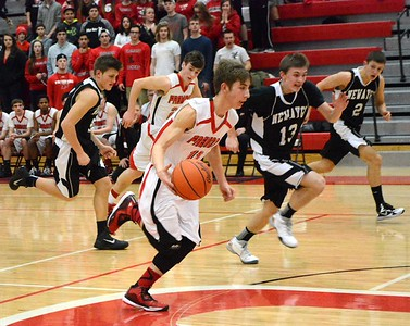 Boys Varsity Basketball - 2/10/2015 Newaygo (RT)