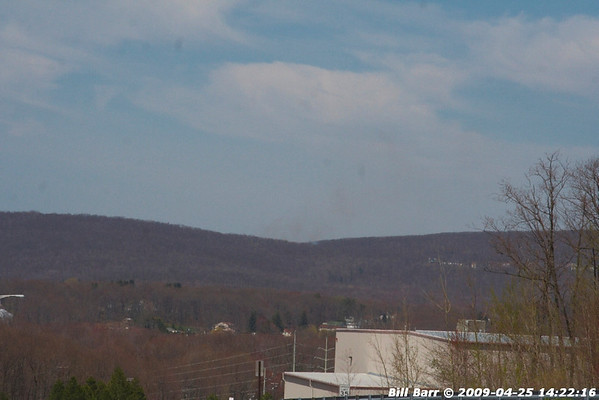 Wildfire, Laurel Run, 4/25/09
