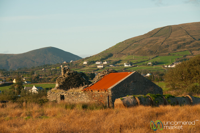 Ring of Kerry, Farmhouses and Landscape - County Kerry, Ireland